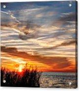 Mississippi Gulf Coast Sunset Acrylic Print