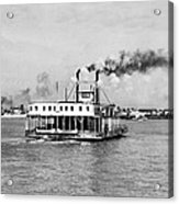 Mississippi River Ferry Boat Acrylic Print