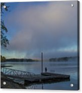 Mississippi River In Wisconsin Acrylic Print