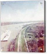 Mississippi River Acrylic Print