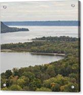 Mississippi River Lake Pepin 7 Acrylic Print