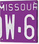 Missouri '78 Acrylic Print