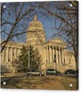 Missouri Capital Building Jefferson City Dsc00653 Acrylic Print