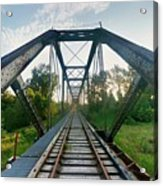 Missouri Side Of Track's Acrylic Print