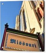 Missouri Theater Acrylic Print