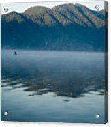 Mist On Lake Atitlan Guatemala Acrylic Print