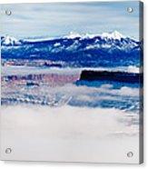 Mist Over Canyonlands I Acrylic Print