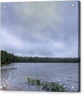 Mist Over Nicks Lake Acrylic Print