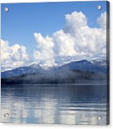Mist Over Priest Lake Acrylic Print