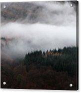 Mist Rolling Down Acrylic Print