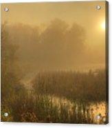 Mist Sunrise Acrylic Print