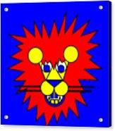 Mister Lion Acrylic Print
