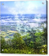 Mists In The Valley Acrylic Print