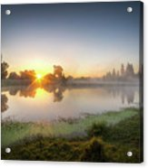 Mists Of The Morning Acrylic Print