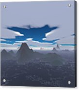 Misty Archipelago Acrylic Print