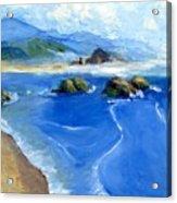 Misty Bodega Bay Acrylic Print