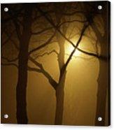 Misty Cross Acrylic Print