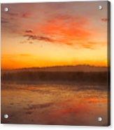 Misty Dawn#1 Acrylic Print