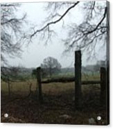Misty Day - Photo Acrylic Print
