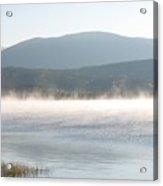 misty lake RIV M 30 Acrylic Print