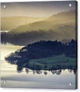 Misty Lake Windermere Acrylic Print
