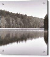 Misty Morning On Slipper Lake Acrylic Print