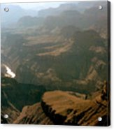 Misty Morning At The Grand Canyon  Acrylic Print