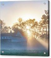 Misty Morning Sunrise - Valley Forge Acrylic Print