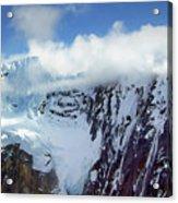 Misty Mountain Flat Top Acrylic Print