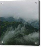 Misty Mountains Acrylic Print