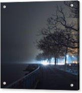 Misty Night Acrylic Print
