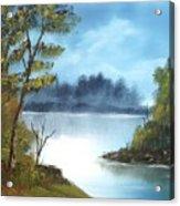 Misty River Acrylic Print