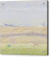 Misty Sea, Jan Toorop, 1899 Acrylic Print