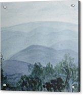 Misty Shenandoah Acrylic Print