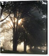 Misty Texas Morning Acrylic Print