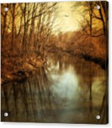 Misty Waters Acrylic Print