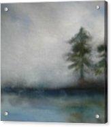 Misty Waters Acrylic Print