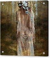Misty Woods Acrylic Print