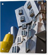 Mit Stata Center Cambridge Ma Kendall Square M.i.t. Acrylic Print