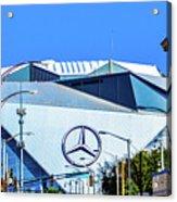 Mercedes Benz Stadium Acrylic Print
