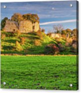 Mitford Castle Beside River Wansbeck Acrylic Print