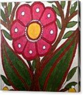 Mithila Bloom Acrylic Print