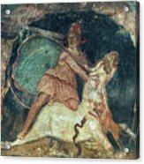 Mithras Killing The Bull - To License For Professional Use Visit Granger.com Acrylic Print