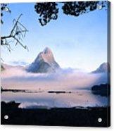 Mitre Peak Acrylic Print