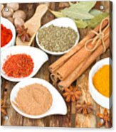 Mix  Of Spices Acrylic Print