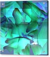 Mixed Greens Acrylic Print