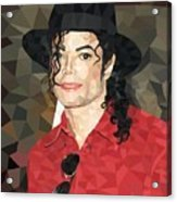 Mj Low Poly Acrylic Print