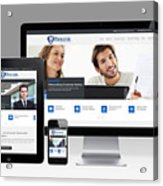 Mjollnir Group Inc - Responsive Website Acrylic Print