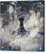 Mjollnir Acrylic Print by JC Swart