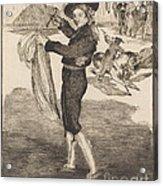 "Mlle. Victorine In The Costume Of An ""espada""(l'espada) Acrylic Print"